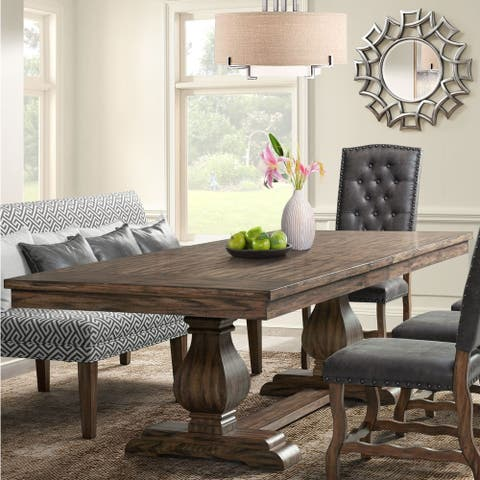 The Gray Barn Coach Ride Rectangle Standard Height Dining Table