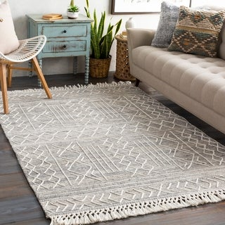 Link to Bentham Handmade Moroccan Wool Area Rug Similar Items in Farmhouse Rugs