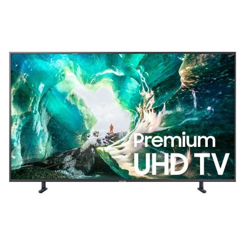 "Samsung 8 Series Premium 55"" Class 4K (2160P) UHD HDR Smart LED TV - Refurbished - Black"