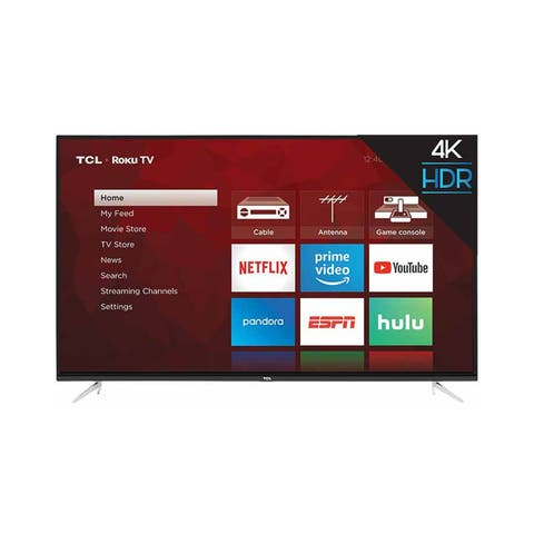 "TCL 55"" Class 4K (2160P) UHD HDR Roku Smart LED TV - Refurbished"