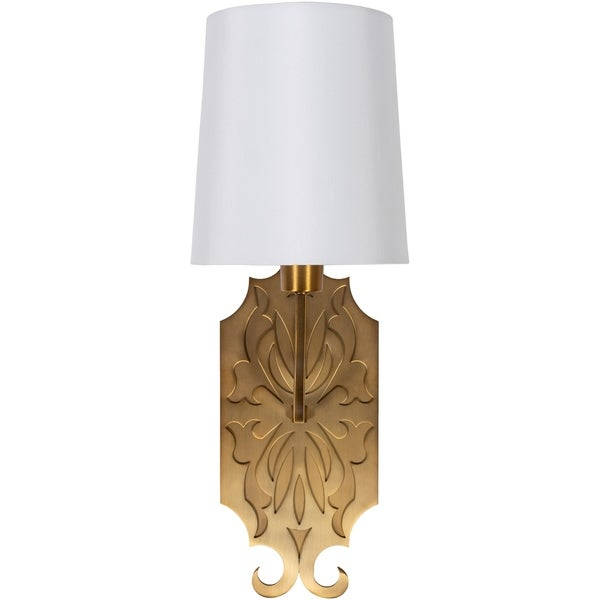 Roxie Glam Antiqued 1-Light Wall Sconce. Opens flyout.
