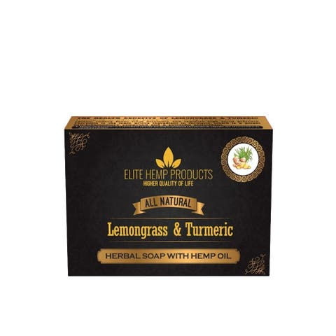 Lemongrass & Turmeric Hemp Oil Soap