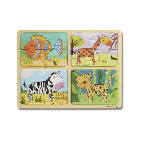 NP Wooden Puzzle Animal Patterns