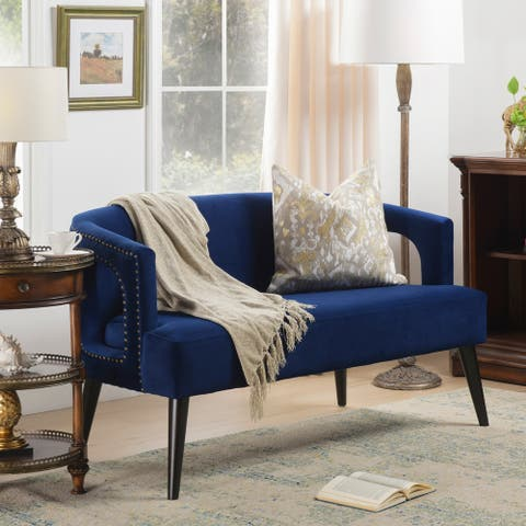 Gracewood Hollow Dow Mid-century Modern Upholstered Settee