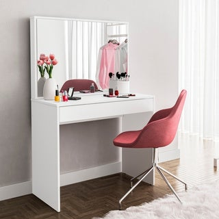 Porch & Den Highfield White Dressing Table