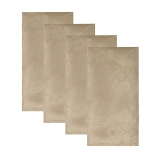 """Link to Caiden Elegance Damask Napkin, Set of 4 - 17""""x17"""" Similar Items in Table Linens & Decor"""
