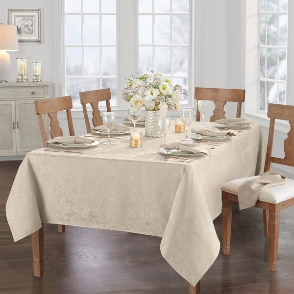 Caiden Elegance Damask Tablecloth. Opens flyout.