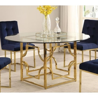Buy Glass Kitchen & Dining Room Tables Online at Overstock ...