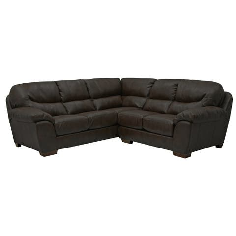 Pedros Faux Leather Sectional Sofa