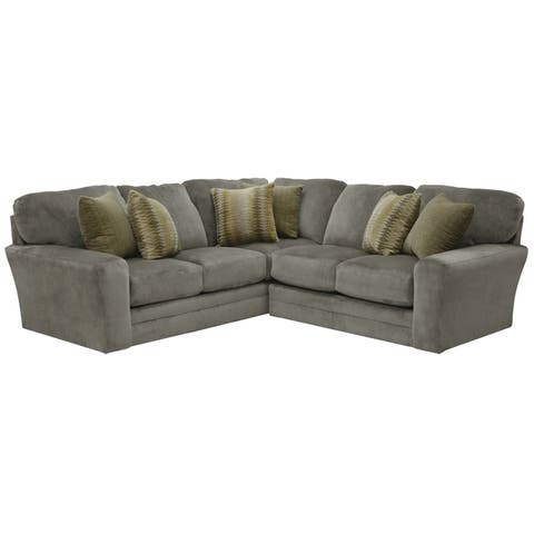 Hilton Suede Sectional Sofa