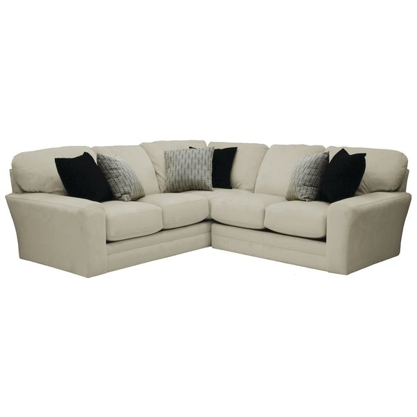 Hilton Suede Sectional Sofa. Opens flyout.