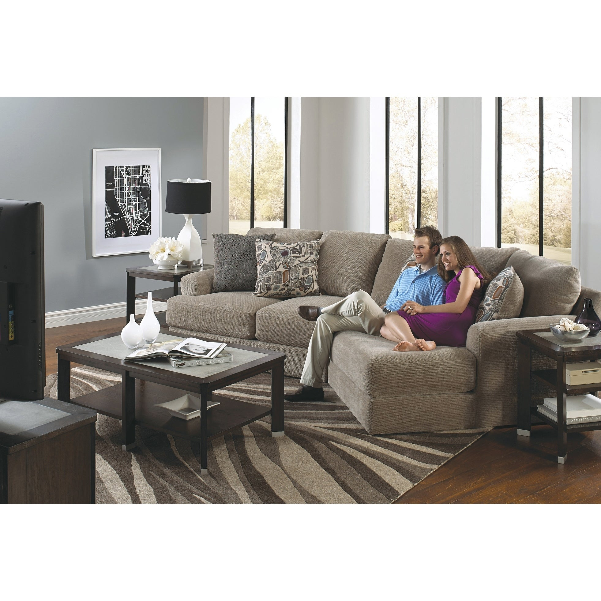 Beau Two Piece Sectional Sofa On