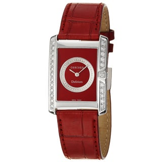 Concord Delirium 18k White Gold Diamond Watch