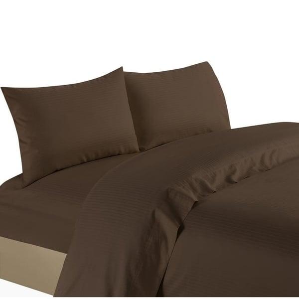 Bedding Items Extra Deep Pocket 1000 TC Egyptian Cotton Burgundy Stripe US Sizes