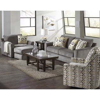 Jesse Loveseat, Two Chair and Ottoman Set