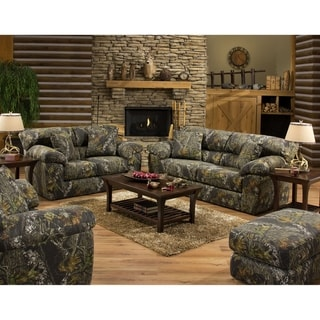 Alaska Rustic Sofa and Loveseat Living Room Set