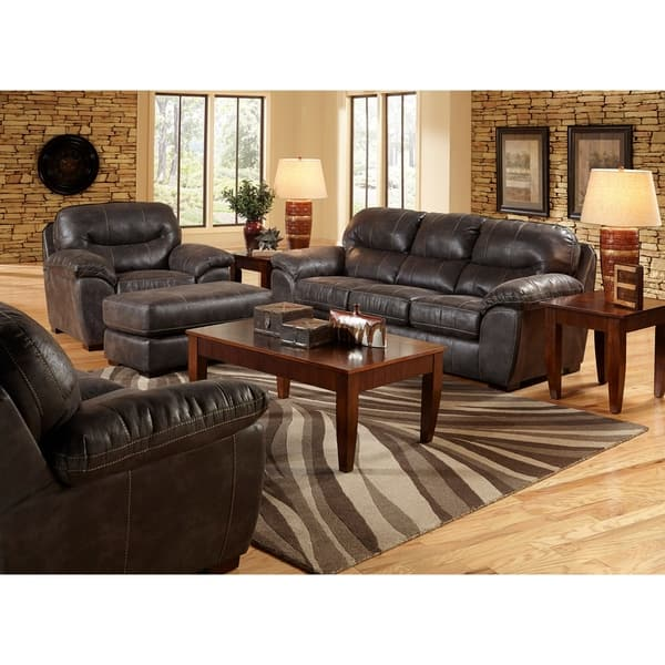 Superb Shop Fergie Faux Leather Sofa And Loveseat Living Room Set Cjindustries Chair Design For Home Cjindustriesco