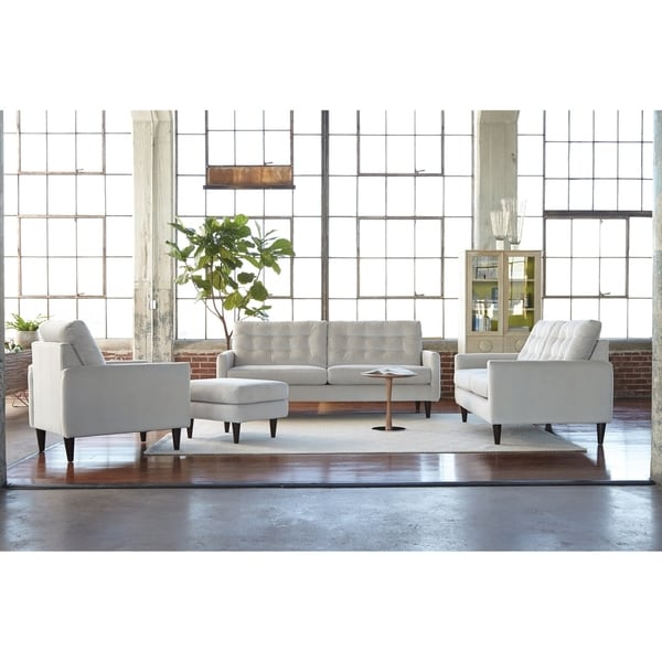 Campos Faux Leather Four Piece Living Room Set