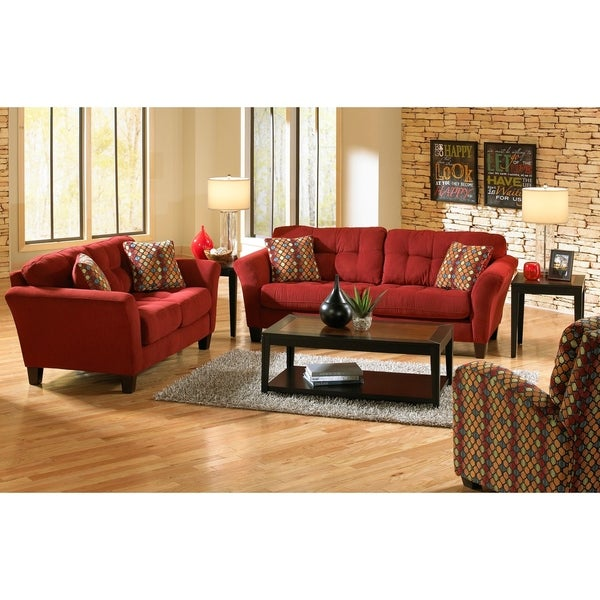 Affalo Sofa and Loveseat Living Room Set