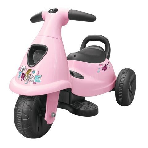 6V Kid Motorz My First Trikes in Pink