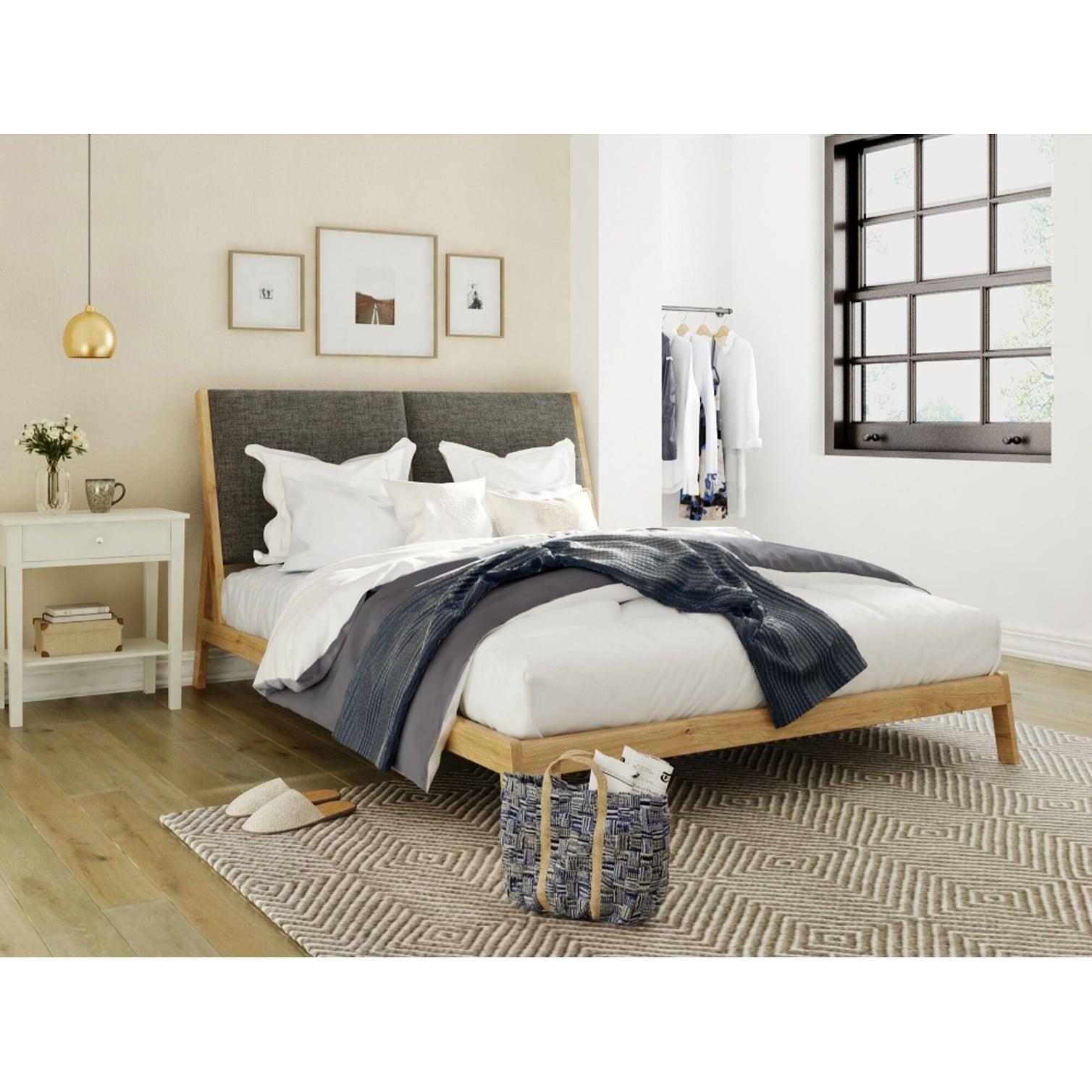 Finch Mid Century Modern A Frame Platform Bed