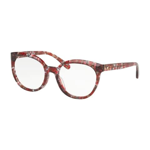 Coach HC6130F 5564 54 Berry Tortoise Woman Cat Eye Eyeglasses