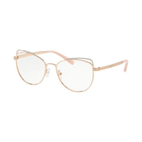 Michael Kors MK3025 1108 53 Rose Gold Woman Cat Eye Eyeglasses