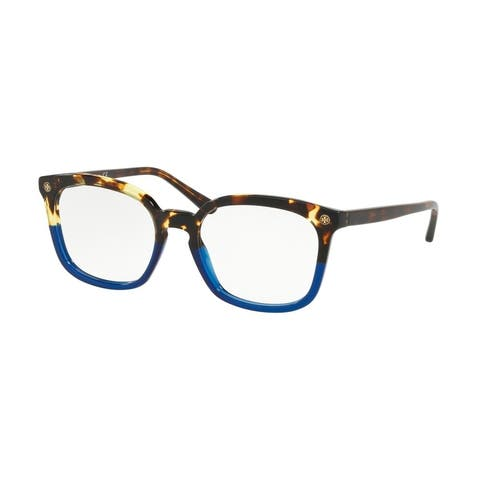 Tory Burch TY2094 1755 50 Vintage Tortoise / Blue Woman Square Eyeglasses