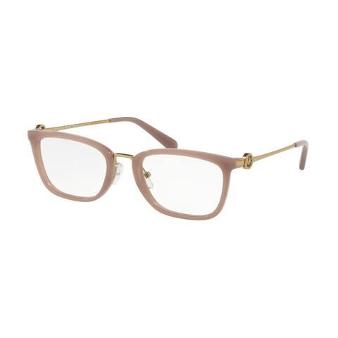 Michael Kors MK4054 3320 52 Milky Pink Woman Rectangle Eyeglasses