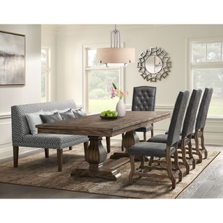 The Gray Barn Coach Ride 6-piece Dining Set with Tall Back Chairs