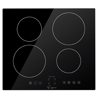 """Empava  24"""" Electric Induction Cooktop with 4 Boost Heating Elements 240V"""
