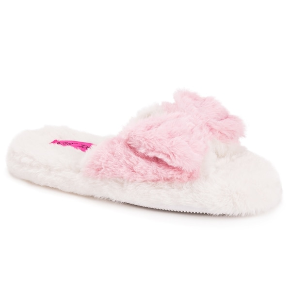 Betsey Johnson Women's Open Toe Scuff Slippers. Opens flyout.