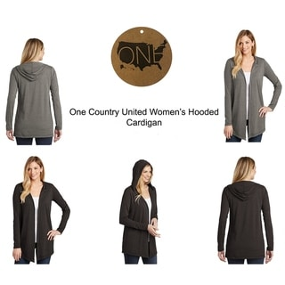 One Country United Women's Hooded Cardigan