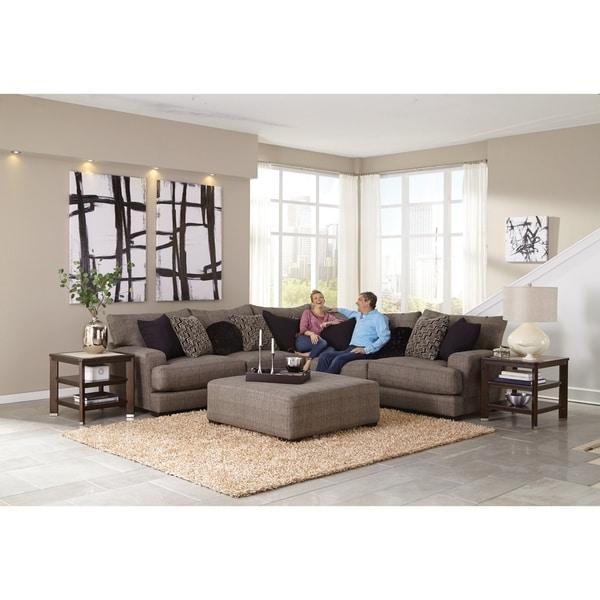 Padden Sectional Sofa and Ottoman Living Room Set