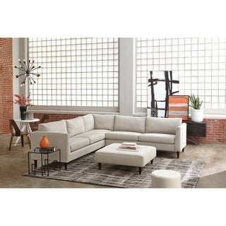 Dakota Sectional Sofa and Ottoman Set