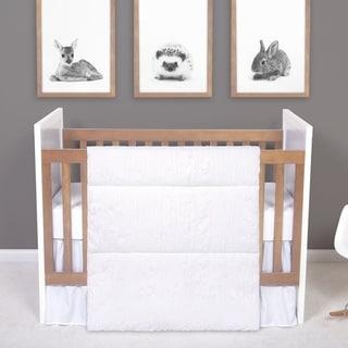 Shop Abc Cotton Percale 3 Piece Porta Crib Bedding Set