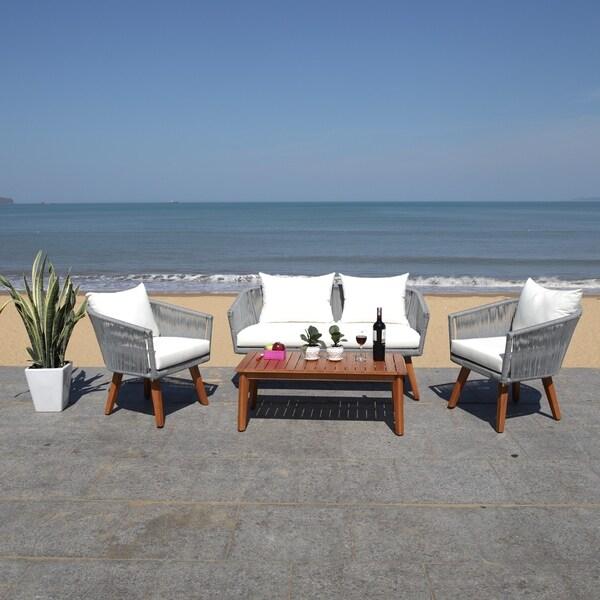 Safavieh Outdoor Living Velso 4 Pc Living Set