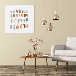 Link to Wynwood Studio 'Mid Century Drops' Abstract Wall Art Canvas Print - Orange, Pink Similar Items in Vinyl Wall Art
