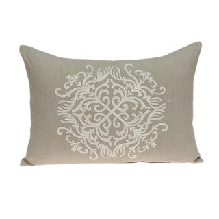 Link to Parkland Collection Tara Traditional Beige Pillow Cover With Poly Insert Similar Items in Pillows