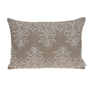 Link to Parkland Collection Omni Traditional Tan Pillow Cover With Poly Insert Similar Items in Pillows