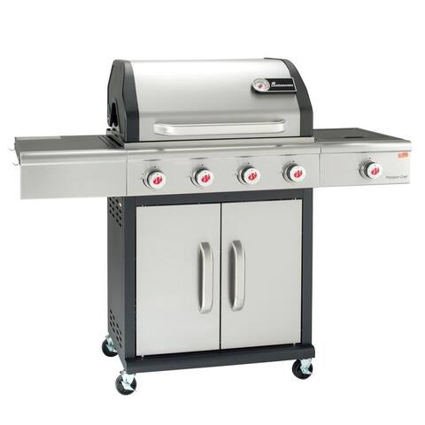 Landmann Precision Chef PTS 4.1 Stainless & Black