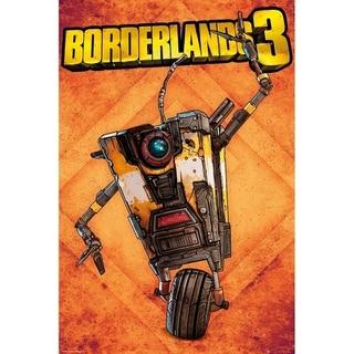 Borderlands 3 Claptrap Poster Print