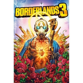 Borderlands 3 Game Cover Poster Print