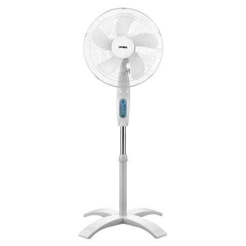 Optimus Wave Oscillating Stand Fan F-1760
