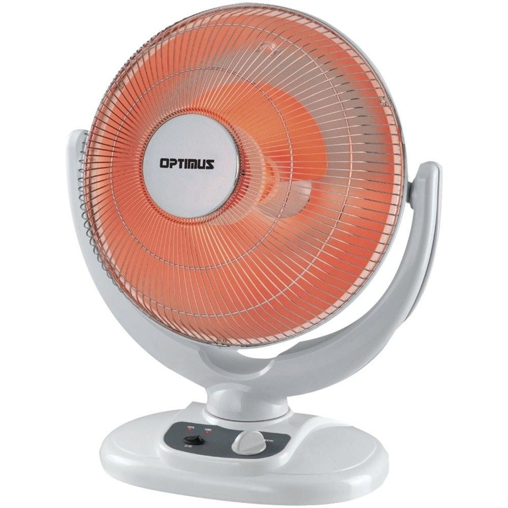 OPTIMUS 800W INFRARED QUARTZ RADIANT HEATER SUN-LIKE WARMTH TIP-OVER SAFETY NEW