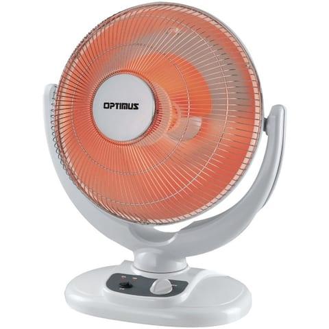 Optimus 14 Inch Oscillation Dish Heater H-4439