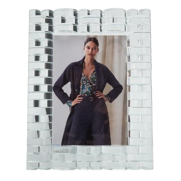 Crystal Glass Design Photo Frame