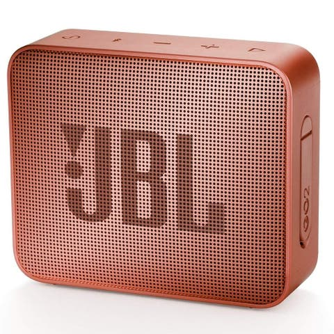 JBL GO 2 Portable Bluetooth Waterproof Speaker - Cinnamon