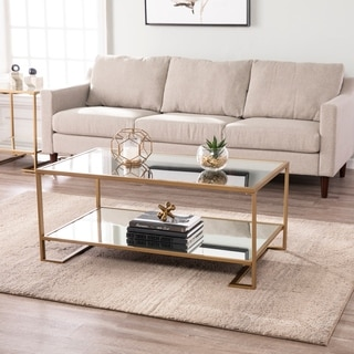 Harper Blvd Glam Gold Metal Coffee Cocktail Table