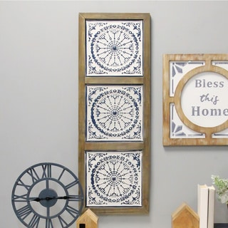 The Gray Barn Medallion Panel Wall Decor